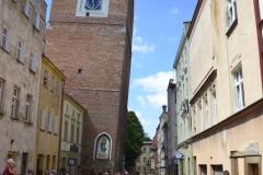 Krzywa Wieża przy ul. św. Wojciecha